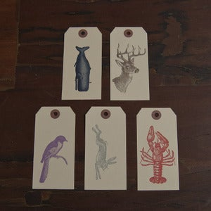 Image of Wildlife Gift Tag Set