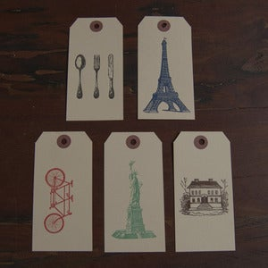 Image of Home and Travel Gift Tag Set