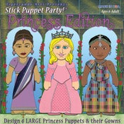 Image of SPP!® Princess edt Make the Puppets, Design the Gowns!