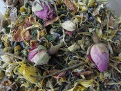 Image of Organic Herbal Bath roses lavender calendula camomile