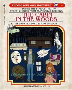 Image of The Cabin In The Woods Choose Your Own Adventure Print
