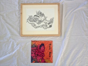 Image of TORCHE / BORIS 'Chapter Ahead Being Fake' original artwork + 10""