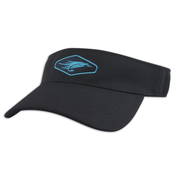 Image of Fly Fishing Visor - Black