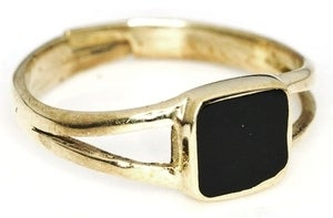 Image of SQUARE BLACK - Brass