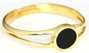 Image of CIRCLE BLACK - Brass