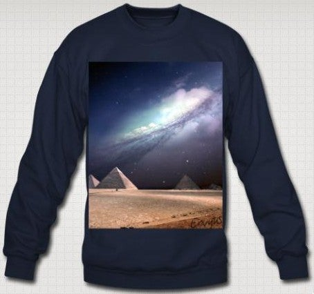"Image of ""Pyramids"" Sweatshirt"