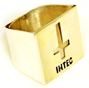 Image of IHTEC CRUCIFIX ADJUSTABLE - Brass