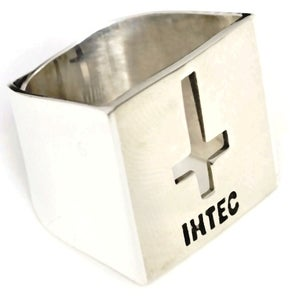 Image of IHTEC CRUCIFIX ADJUSTABLE - White Bronze