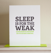 Image of Sleep is for the Weak