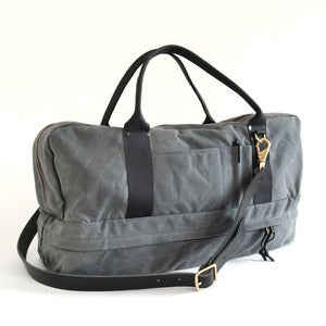 Image of Pilot Duffle Grey