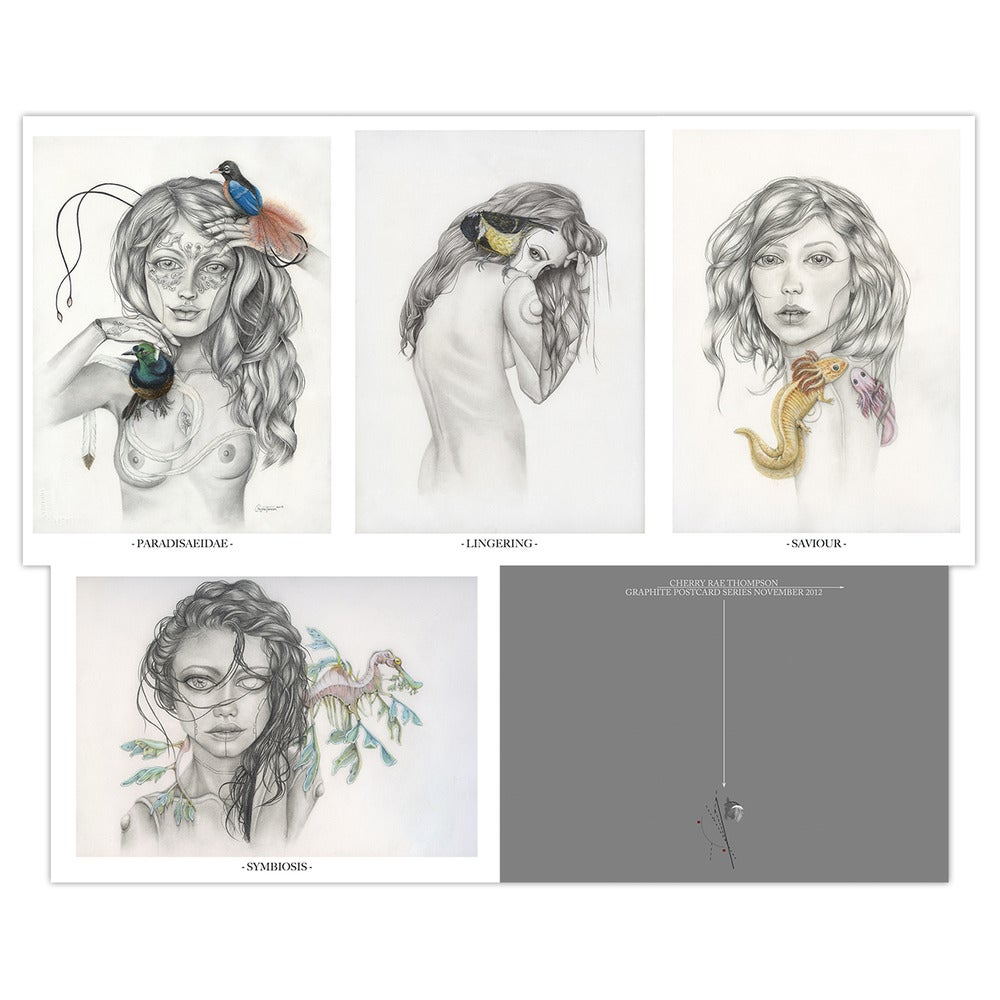 Image of Graphite Postcard Series LE