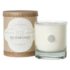 Image of Belgian Linen Candle