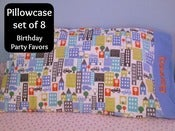 Image of Personalized Pillowcases - set of 8