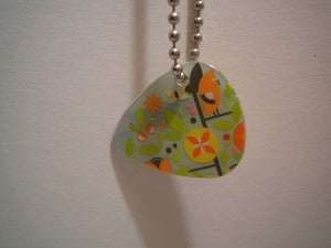 Image of Guitar Pick Necklace BBBBB