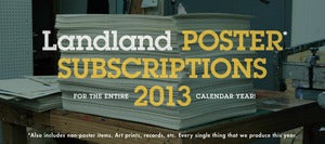 Image of 2013 Landland Print Subscriptions