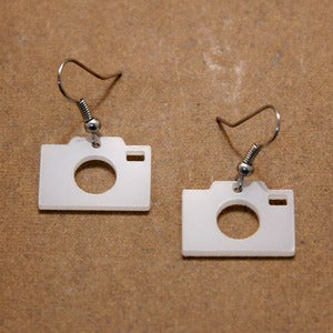 Image of Camera Earrings