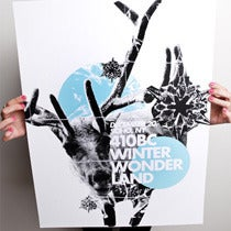 Image of 410BC WINTER WONDERLAND POSTER