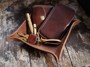Image of Leather Daily Carry Tray