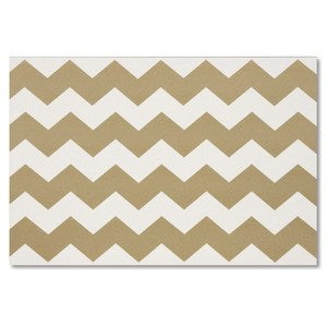 Image of Gold Chevron Placemat