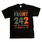 Image of FRONT 242 Medusas Shirt/ NEW-Reissued from First US Show!
