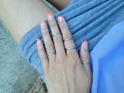 Image of Petite Knuckle Ring Set