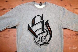 Image of SJ 408 Gray Crewneck Sweater