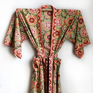 Image of Anokhi Suzani Cotton Robe