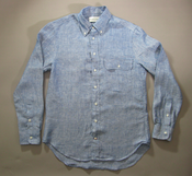 Image of Buckshot Sonny's Indigo Linen Vacation Shirt
