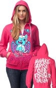 Image of Awake Bat Kitty Hoody