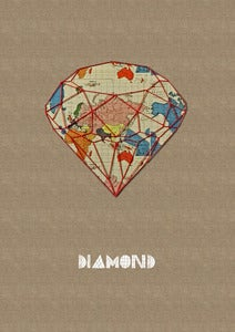 "Image of Print of an original work: ""Diamond"""