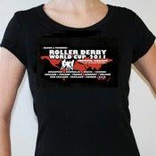 Image of 2011 Roller Derby World Cup T-Shirt