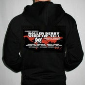 Image of 2011 Roller Derby World Cup Hoodie