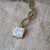 Image of Clear Crystal Necklace