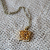 Image of Topaz Crystal Necklace