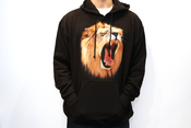 Image of &quot;Scream&quot; Men&amp;#x27;s Hoodie - Black