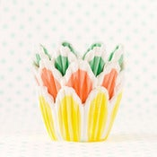 Image of Tulip Flower Mini Cupcake Liners