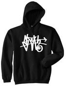 Image of Black SLOTH Tag Hoodie