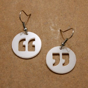 Image of Quote Earrings