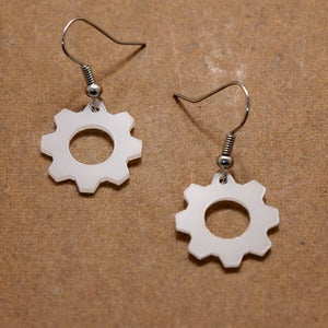 Image of Cog Earrings