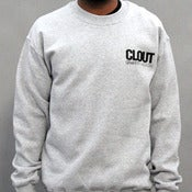 Image of Header Crewneck - Gray