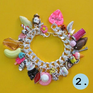 Image of Sweet Dreams Chunky Monkey Charm Bracelet (2 Designs)