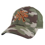 Image of Over Under Trucker Hat - Camo