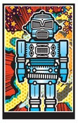 Image of GIANT ROBOT_comic 24x36