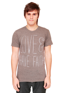 Image of Love & Have Faith Tee