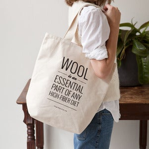 "Image of ""High-Fiber"" Tote Bag"