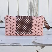 Image of diaper clutch - oh deer!
