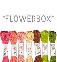 Image of Sublime Stitching's 6 pack of Embroidery Floss - Flowerbox