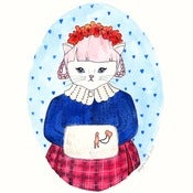 Image of Georgina Kitten Print 