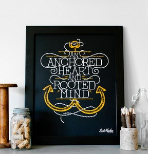 Image of An Anchored Heart (Print)