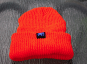 Image of FTL Elephant Beanie-Safety Orange
